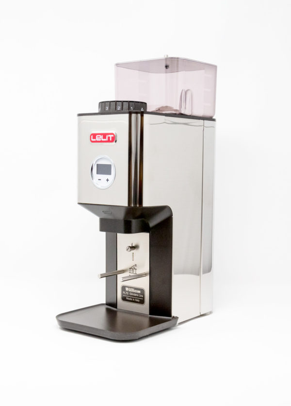 LELIT William PL72 - Kaffeemühle (Edelstahl/Schwarz)